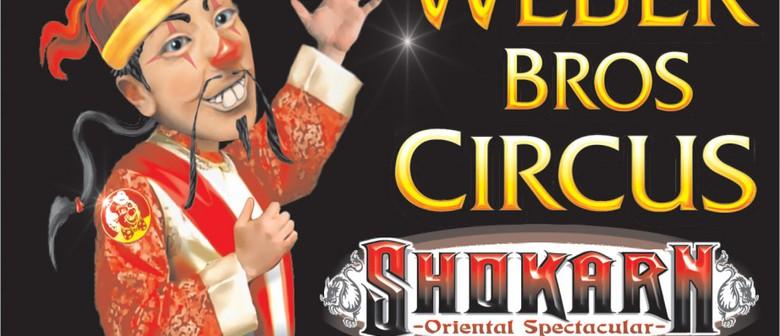 Weber Bros Circus 'Shokarn' Acrobats of the Orient