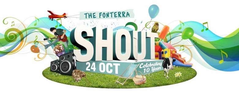 Fonterra's 10th Birthday Shout