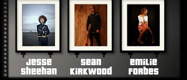 Jesse Sheehan, Sean Kirkwood & Emily Forbes