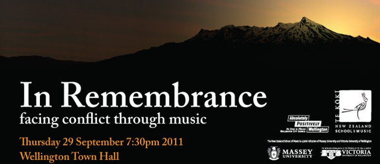 In Remembrance: NZSM Orchestra