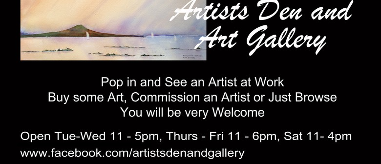 Artists Den and Art Gallery Opening