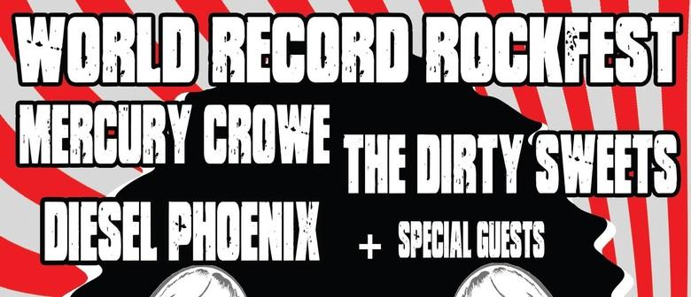 World Record Rockfest: CANCELLED