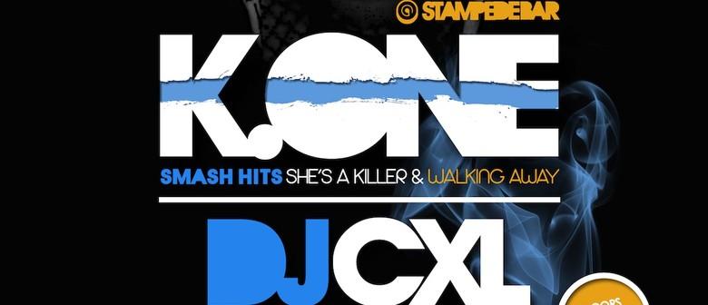 K.One, DJ Cxl & Lady Esque