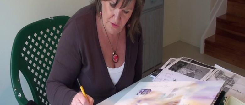 Artist in Resident Amanda Brett