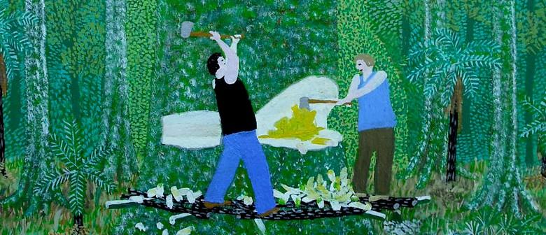 Dick Lyne - Bushman / Folk Artist