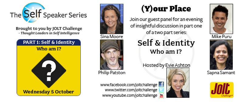 Part 1 of (Y)our Place: Self & Identity - Who am I?