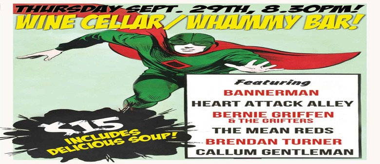Bannerman, Heart Attack Alley, Bernie Griffen & The Grifters