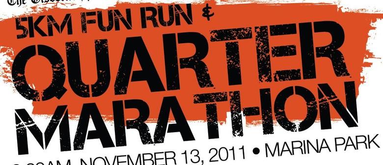 The Gisborne Herald Quarter Marathon 2011