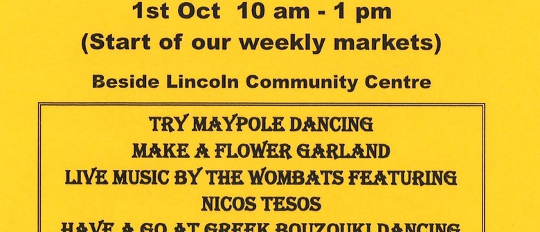 Lincoln Farmers & Craft Market Spring Festival 2011