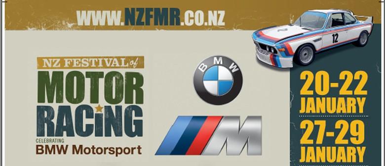 New Zealand Festival of Motor Racing Celebrating BMW