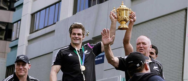 All Blacks' Victory Parade - Christchurch