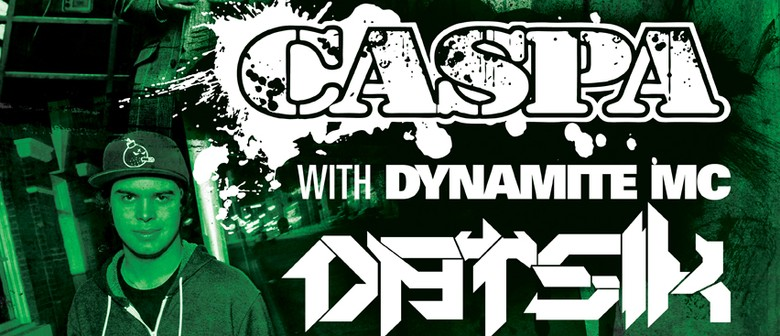 Caspa with Dynamite MC and Datsik (Auckland)