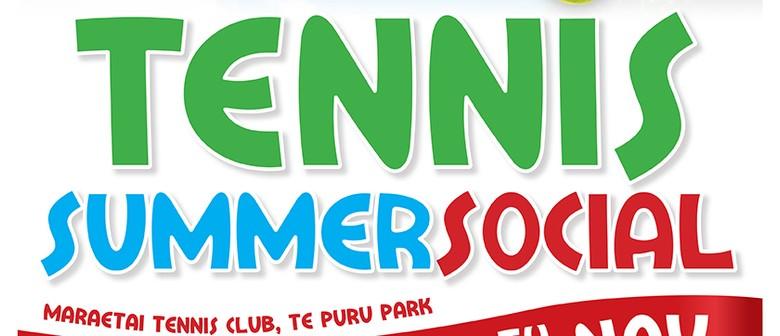 Tennis Summer Social