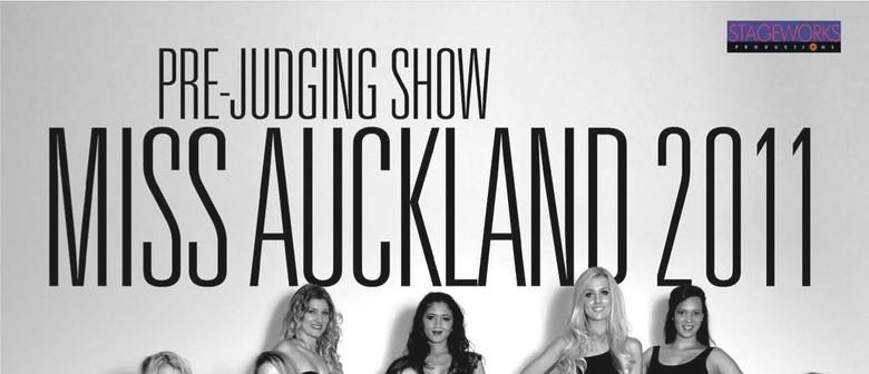 Miss Auckland Pre Judging