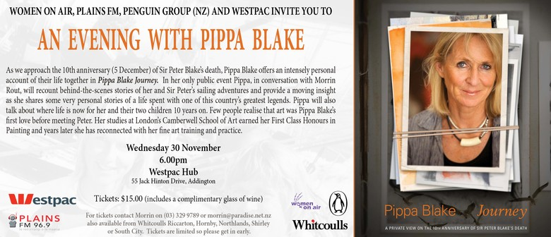 An Evening With Pippa Blake