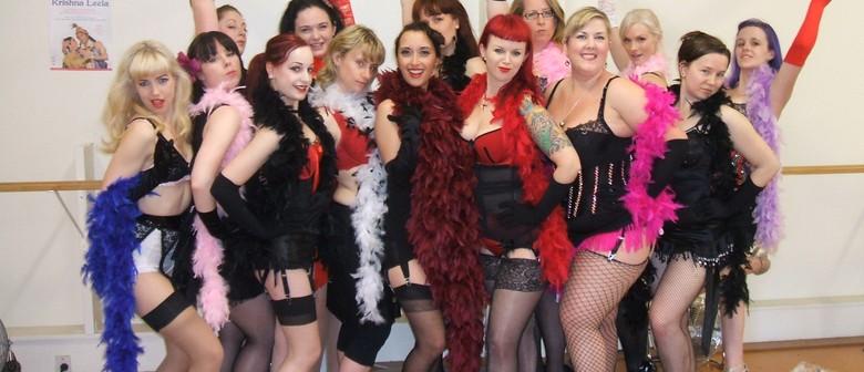 Burlesque Course With Vintage Hair & Makeup Class