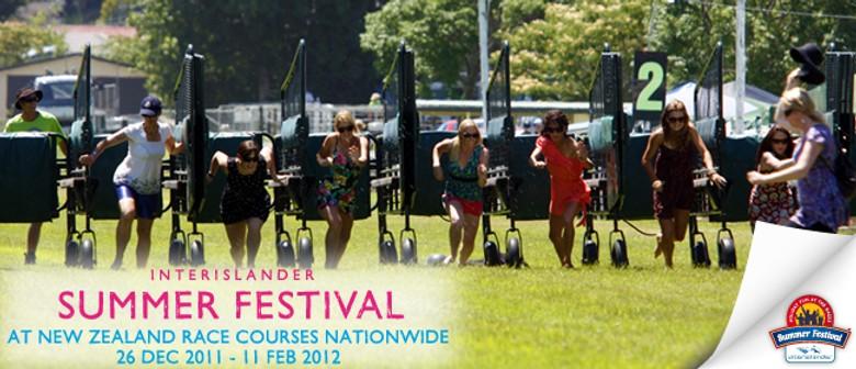 Interislander Summer Festival Wingatui Races