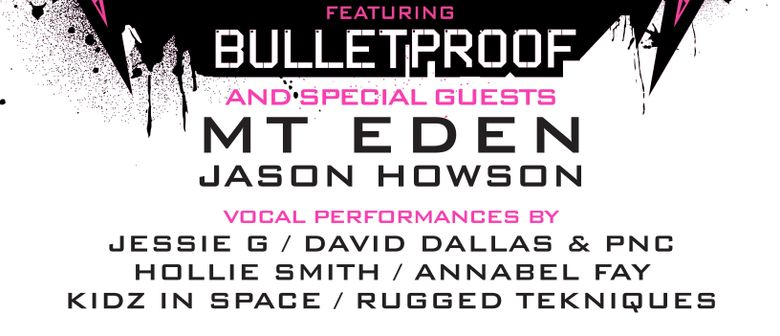 Dub Me Crazy Soundsystem Ft Bulletproof, Mt Eden & Guests