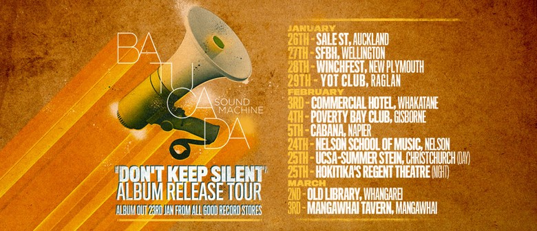 Batucada Sound Machine Album Release 'Don't Keep Silent'