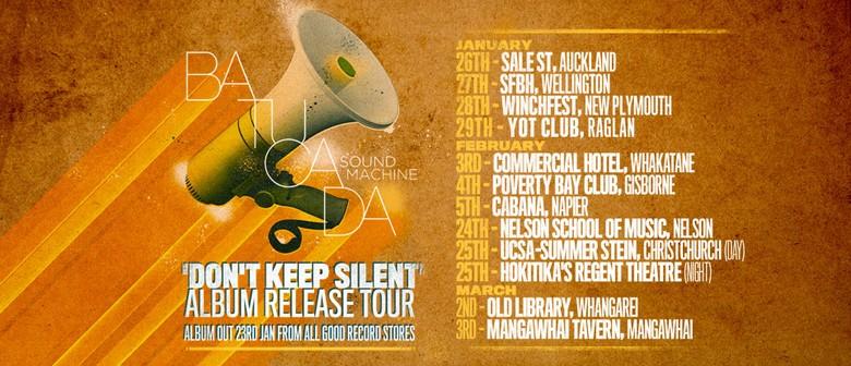 Batucada Sound Machine Album Release - Don't Keep Silent