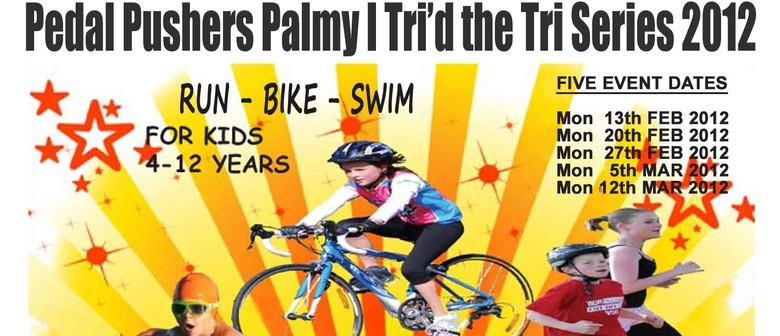Pedal Pushers Palmy: I Tri'd The Tri Series 2012
