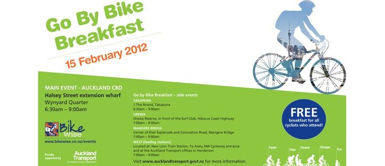 Go by bike breakfast