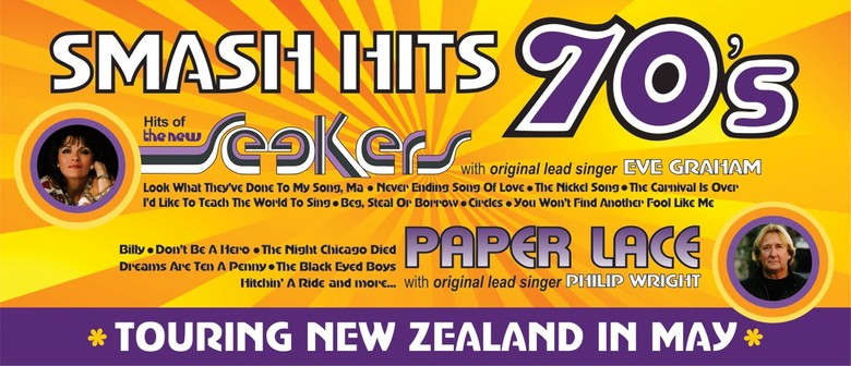 Smash Hits 70's:The Hits of the New Seekers and Paper Lace