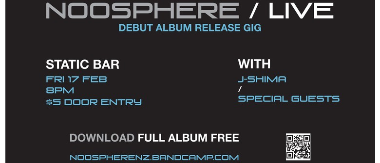 Noosphere Debut Album Release with J-Shima + Special Guests