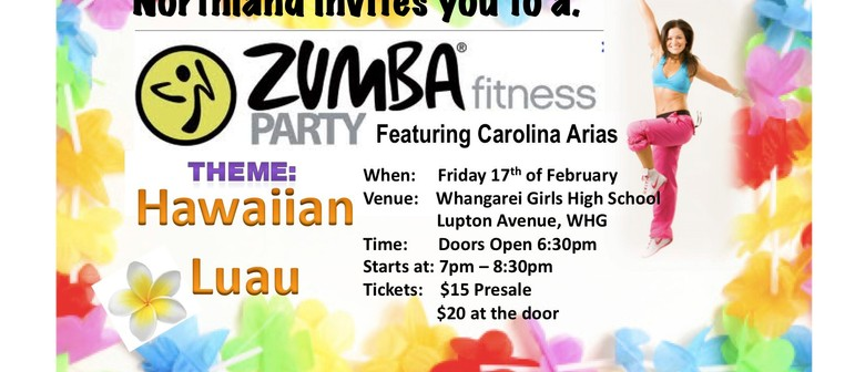 Zumba fitness party luau theme whangarei eventfinda zumba fitness party luau theme stopboris Image collections
