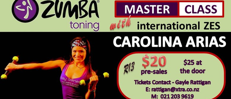 Zumba® Toning Master Class with Carolina Arias