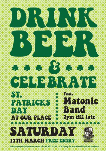 St Patricks Day Celebrations Auckland Eventfinda