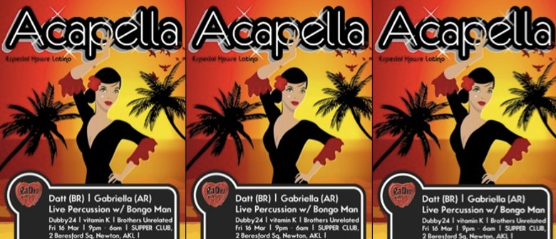 Acapella - Especial House Latino