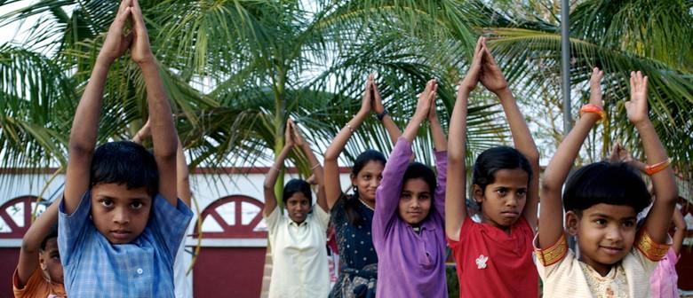 Havan and Kirtan for Yoga Stops Traffick