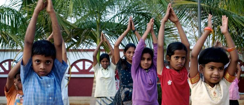 Film: Born Into Brothels - Yoga Stops Traffick Event