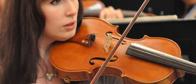 NZSM Friday Lunchtime Concert: Galambos - Winter Violins