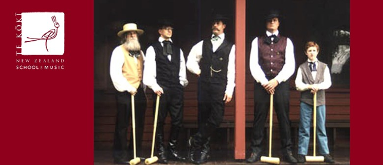 NZSM Friday Lunchtime Concert: The Hired Sportsmen