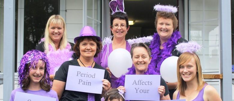 Purple Walk For Endometriosis Awareness
