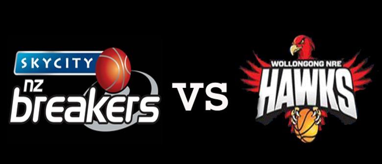 SKYCITY NZ Breakers vs Wollongong Hawks