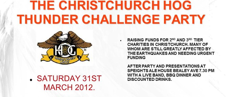 Christchurch HOG Amazing Thunder Challenge Party