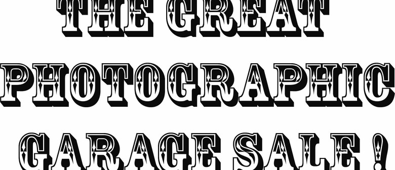 The Great Photographic Garage Sale