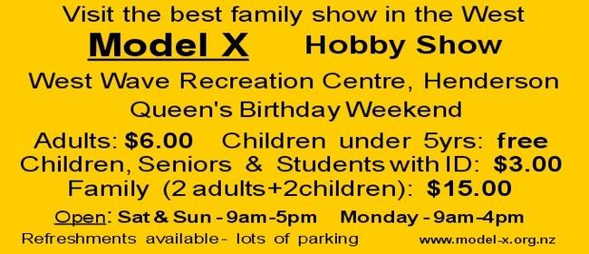 Model X Hobby Show