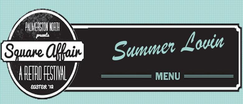 Square Affair - Summer Lovin Retro Menu