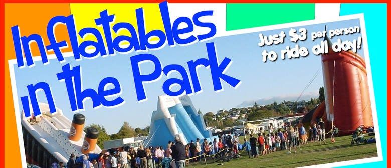 Inflatables in the Park