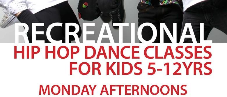 Recreational Hip Hop Dance Classes for 5-12yrs