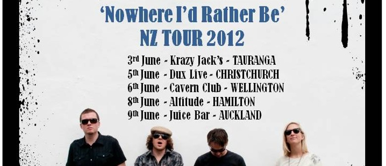 Melic - Nowhere I'd Rather Be NZ Tour 2012