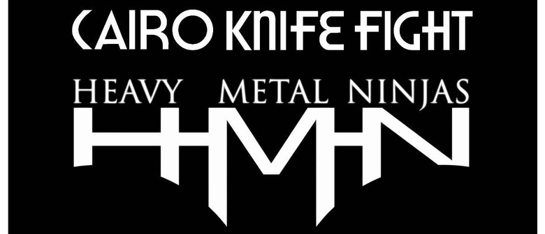 Heavy Metal Ninjas, Cairo Knife Fight & Super Villians