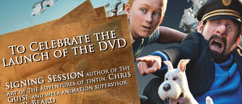 The Adventures of Tintin DVD Launch