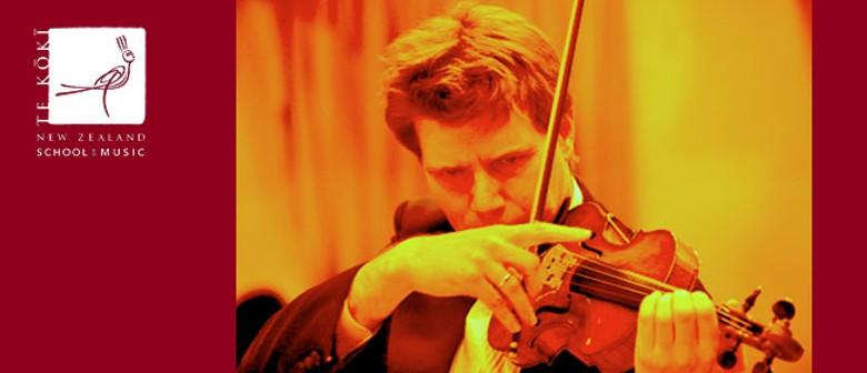 NZSM Friday Lunchtime Concert: Martin Riseley