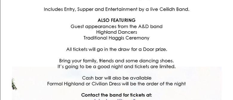 Scottish Ceilidh