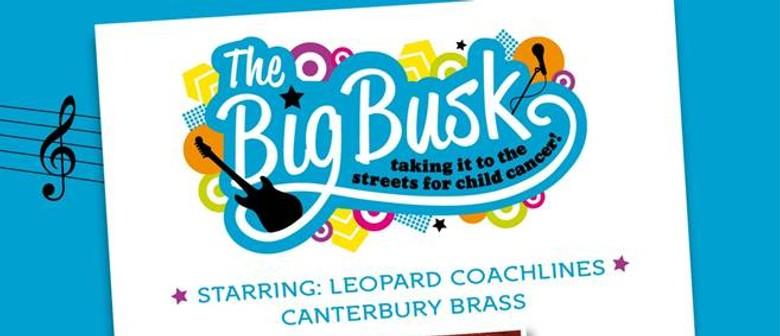 Big Busk 4 Child Cancer: Leopard Coachlines Canterbury Brass: CANCELLED